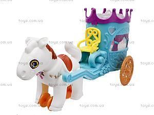 Карета инерционная с лошадкой, 8833, купить