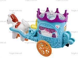 Карета инерционная с лошадкой, 8833, цена