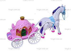 Детская игрушка «Карета для принцессы», 686-713, фото