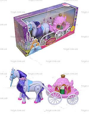 Детская игрушка «Карета для принцессы», 686-713