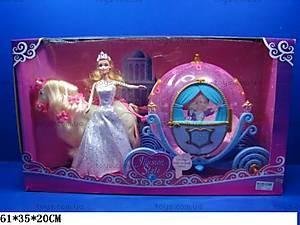 Карета с куклой «Волшебное королевство», 28911B