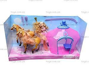 Карета с лошадками, 59386, игрушки