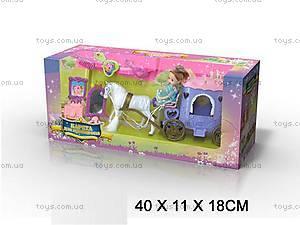 Карета, с лошадкой и куклой, SR3359B