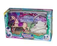 Карета с лошадкой (розовое седло), SM3005, отзывы