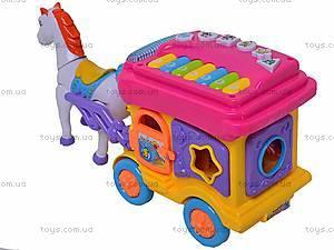 Карета с лошадью, 00513, игрушки