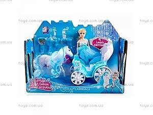 Карета с лошадью, аксессуарами в коробке,