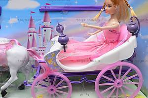 Карета с лошадью детская, 39786, фото