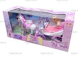 Карета с лошадью детская, 39786