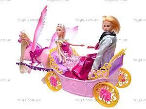 Карета с лошадью и куклами, 66404, купить