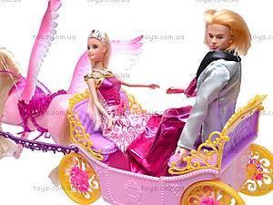 Карета с лошадью и куклами, 66404, цена