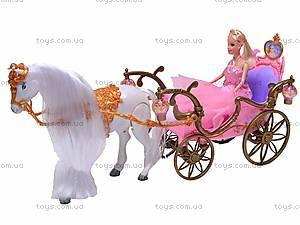Карета, с лошадью и куклой, 209A