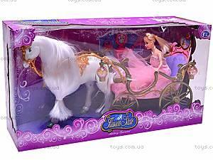 Карета, с лошадью и куклой, 209A, купить