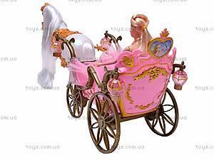 Карета, с лошадью и куклой, 209A, отзывы