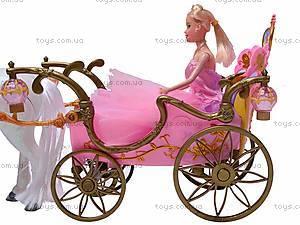 Карета, с лошадью и куклой, 209A, цена