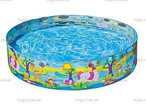 Каркасный бассейн «Счастливые зверьки», 58474, фото