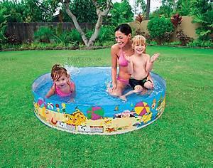 Каркасный бассейн «Весёлый пляж», 56451