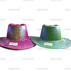 Карнавальная шляпа ковбоя в стиле диско,