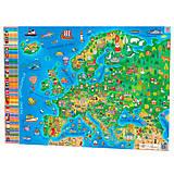 Карта Европы, формат А1, 120328, купити