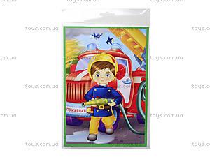 Мягкий пазл «Мальчик-пожарный», VT1103-13, отзывы