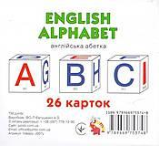 Карточки мини: английский алфавит (26 карточек), J007y, купить