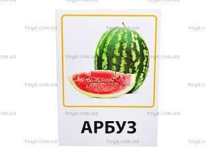 Обучающие карточки «Фрукты, овощи и ягоды», VT1301-02, детские игрушки