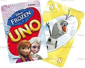 Карточная игра UNO «Холодное сердце», CJM70, купить