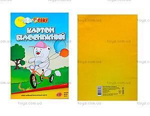 Картон белый TIKI, 10 листов, 50904-TK