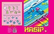 Картон цветной А4 14 листов, 5 наборов в упаковке, ТЕ250, отзывы
