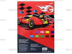 Цветной картон Hot Wheels, 10 листов, HW14-255K, купить