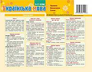 Картонка-подсказка «Украинский Язык.Правило», 66443, отзывы