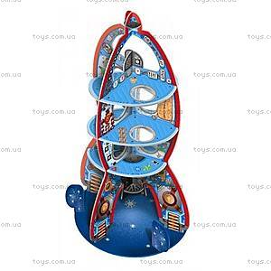 Картонный 3D конструктор «Космический корабль», DJ07701, купить
