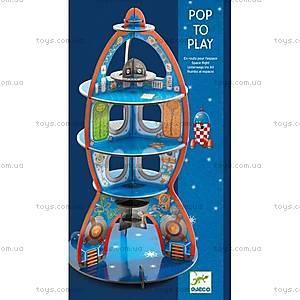 Картонный 3D конструктор «Космический корабль», DJ07701