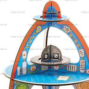 Картонный 3D конструктор «Космический корабль», DJ07701, отзывы