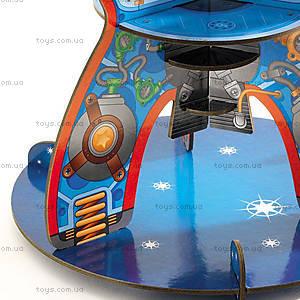 Картонный 3D конструктор «Космический корабль», DJ07701, детские игрушки