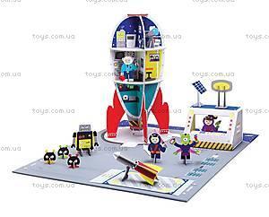 Картонный игровой набор Krooom «Галактическая станция», K-305