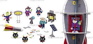 Картонный игровой набор Krooom «Галактическая станция», K-305, цена