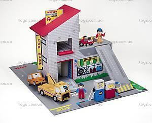 Картонный игровой набор Krooom «Гараж братьев Вилсон», K-303, детские игрушки