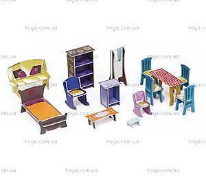 Картонный игровой набор Krooom «Кукольный дом Мелроуз», K-216, купить