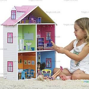 Картонный игровой набор Krooom «Кукольный дом Мелроуз», K-216, фото