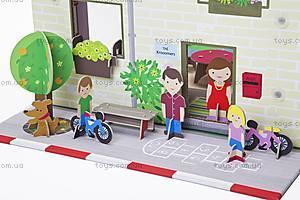 Картонный игровой набор Krooom «Кукольный дом Мюриель», K-304, фото