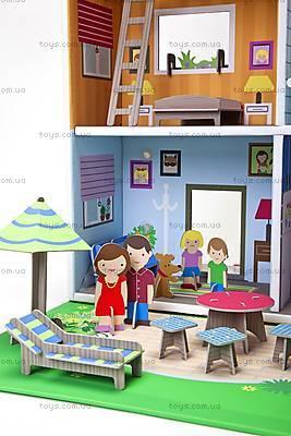 Картонный игровой набор Krooom «Кукольный дом Мюриель», K-304, отзывы