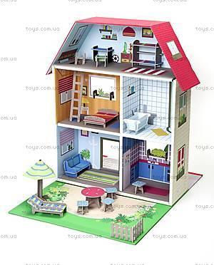 Картонный игровой набор Krooom «Кукольный дом Мюриель», K-304