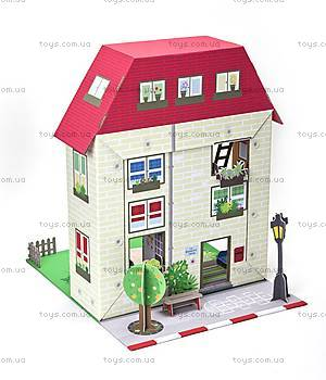 Картонный игровой набор Krooom «Кукольный дом Мюриель», K-304, цена