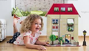 Картонный игровой набор Krooom «Кукольный дом Мюриель», K-304, игрушки