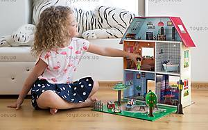 Картонный игровой набор Krooom «Кукольный дом Мюриель», K-304, детские игрушки