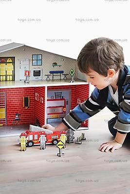 Картонный игровой набор Krooom «Пожарная часть Дилан», K-210, купить