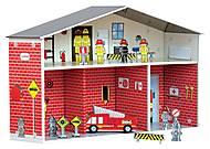 Картонный игровой набор Krooom «Пожарная часть Дилан», K-210, фото