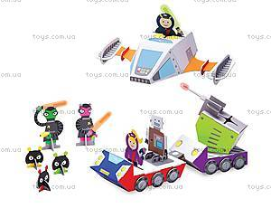 Картонный игровой набор Krooom «Полиция Галактики-738», K-306, купить