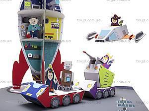 Картонный игровой набор Krooom «Полиция Галактики-738», K-306