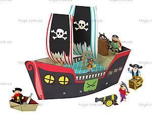 Картонный игровой набор Krooom «Пиратский корабль Купер», K-307